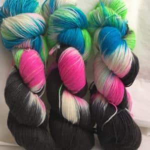 Las Vegas - Handgefärbte Wolle