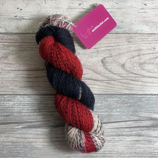 Handgefärbte Wolle Vampir – Tornado gefärbte Wolle kaufen