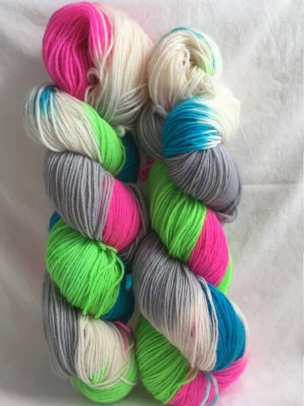 Canterbury - Handgefärbte Wolle