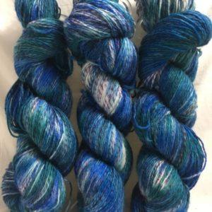 Atlantik Mix - Handgefärbte Twister Wolle