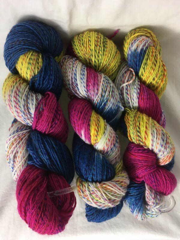 Barbados Mix - Handgefärbte Twister Wolle