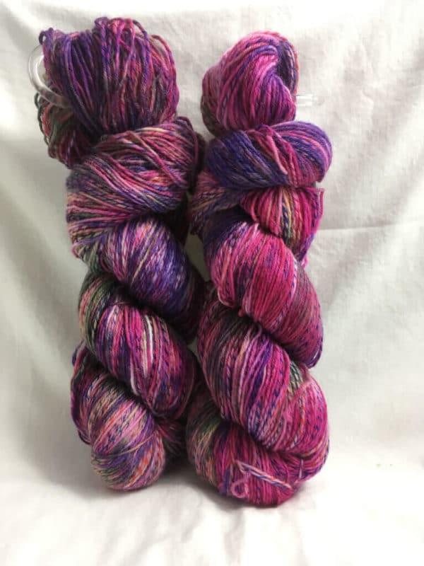 Blumenwiese Mix - Handgefärbte Twister Wolle
