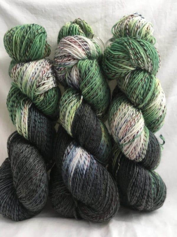 Buddy Green - Handgefärbte Twister Wolle