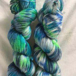Fuerteventura Mix - Handgefärbte Wolle