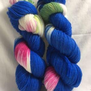 Grandioso Blau - Handgefärbte Wolle