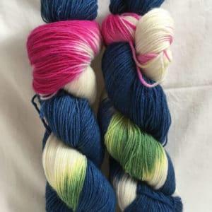 Grandioso Dark Blue - Handgefärbte Wolle