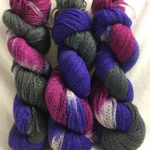 Hypnose - Handgefärbte Twister Wolle