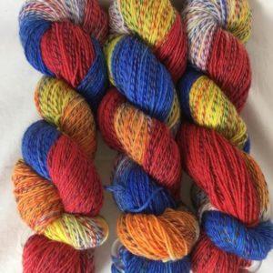 Malawi - Handgefärbte Twister Wolle