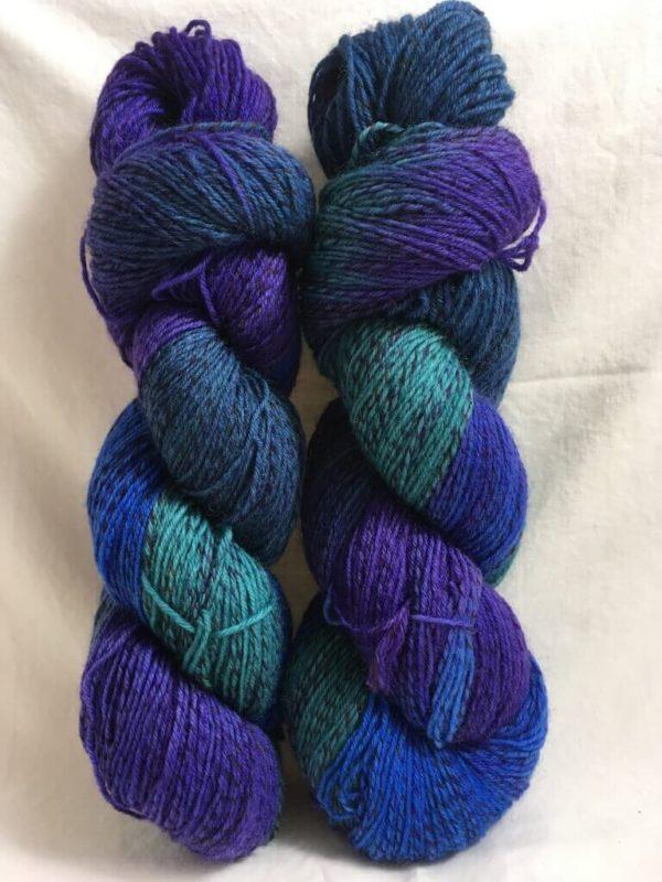 Maui - Handgefärbte Twister Wolle