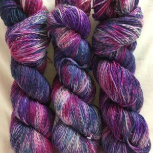 Mauritius - Handgefärbte Twister Wolle