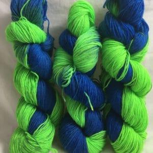 San Antonio - Handgefärbte Wolle