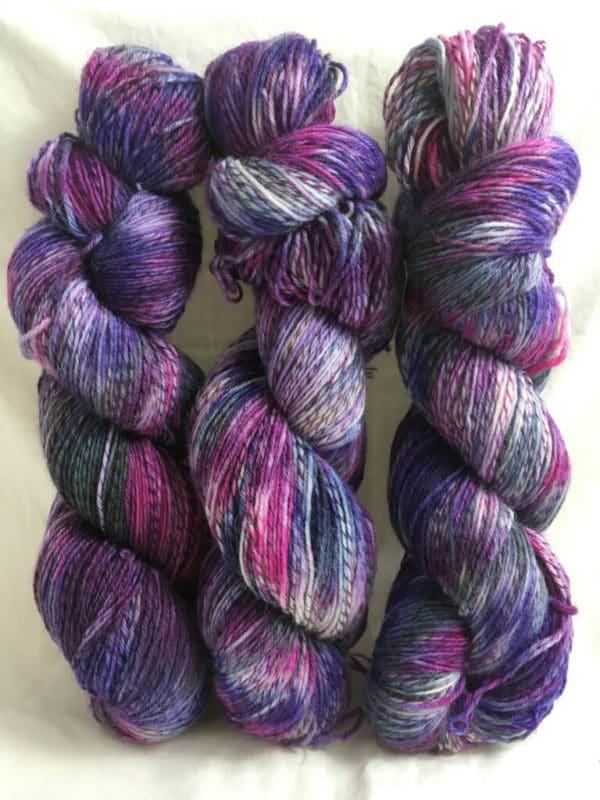 Exeter - Handgefärbte Twister Wolle