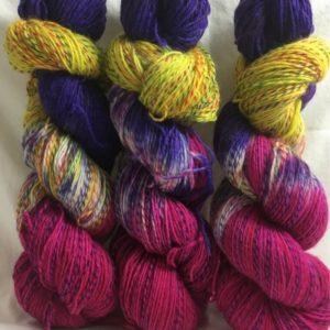 Träumchen - Handgefärbte Twister Wolle