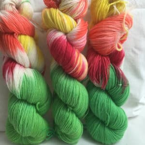 Bibi Blockshügel - Handgefärbte Wolle