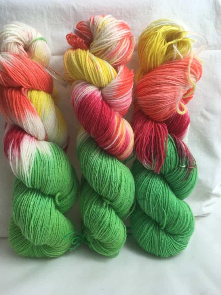 Kunstvolle handgefärbte Wolle für Jedermann