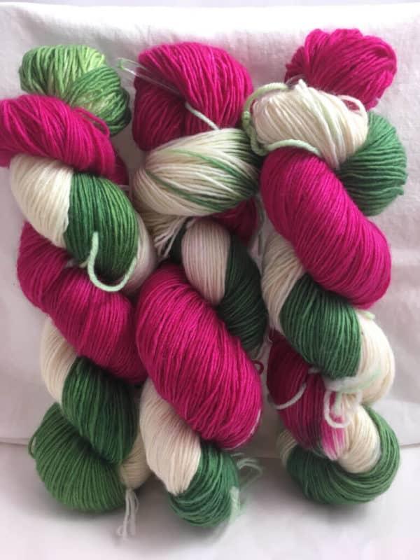 Elfchen - Handgefärbte Merino Wolle