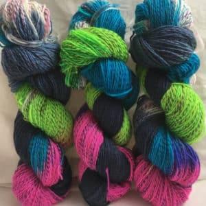 Florida Mix - Handgefärbte Twister Wolle