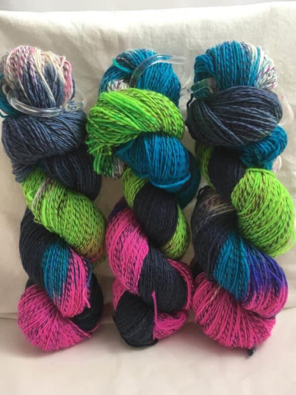 Florida - Handgefärbte Twister Wolle