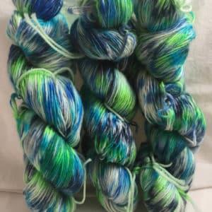 Fuerteventura Mix - Handgefärbte Merino Wolle