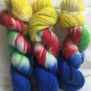 Käpt'n Bärchen -  Handgefärbte Wolle