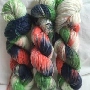 Sidney - Handgefärbte Wolle