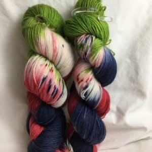 Texas - Handgefärbte Wolle
