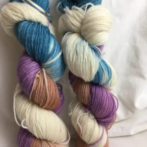 Estland - Handgefärbte Wolle