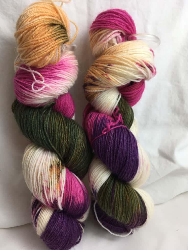 Herzkino - Handgefärbte Wolle