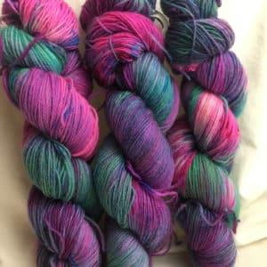 London - Handgefärbte Wolle
