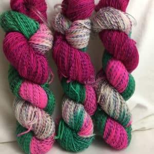 Notting Hill - Handgefärbte Twister Wolle