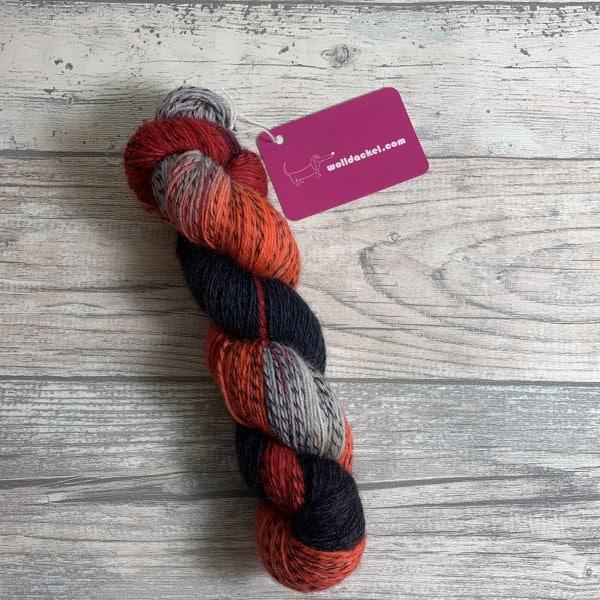 Handgefärbte Wolle Amadeus – Tornado gefärbte Wolle kaufen