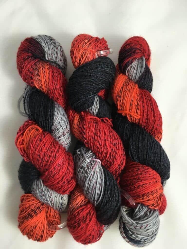 Amadeus - Handgefärbte Twister Wolle