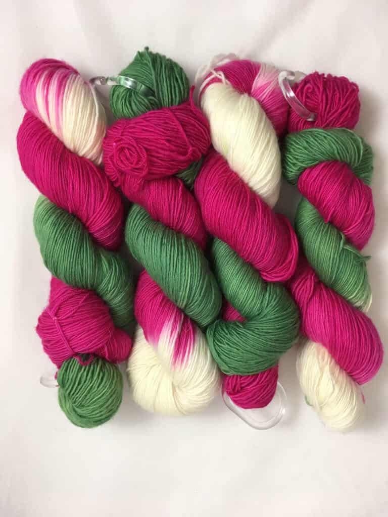 Elfe - Handgefärbte Merino Wolle