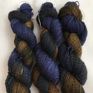 Robin Hood - Handgefärbte Twister Wolle