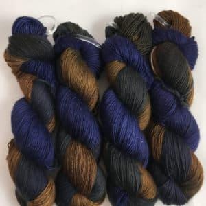 Robin Hood - Handgefärbte Merino Wolle