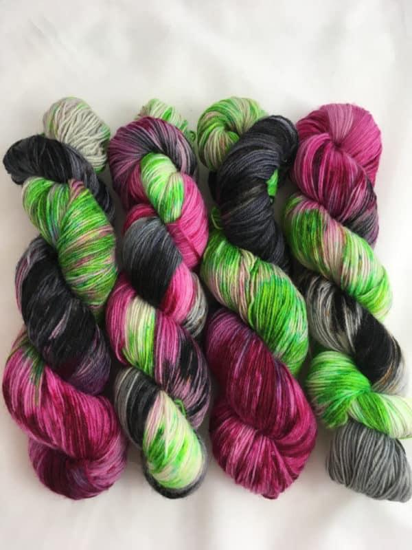 Camden Town - Handgefärbte Wolle