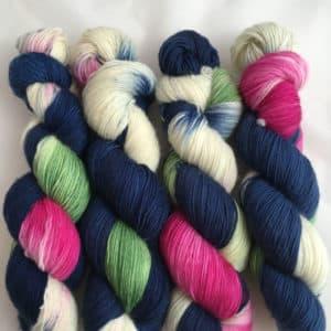 Grandioso Dark Blue - Merino Wolle