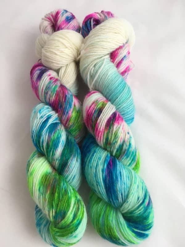 Kew Gardens - Handgefärbte Wolle