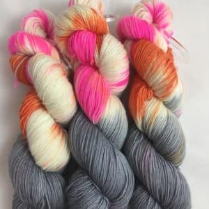 Illinois - Handgefärbte Wolle