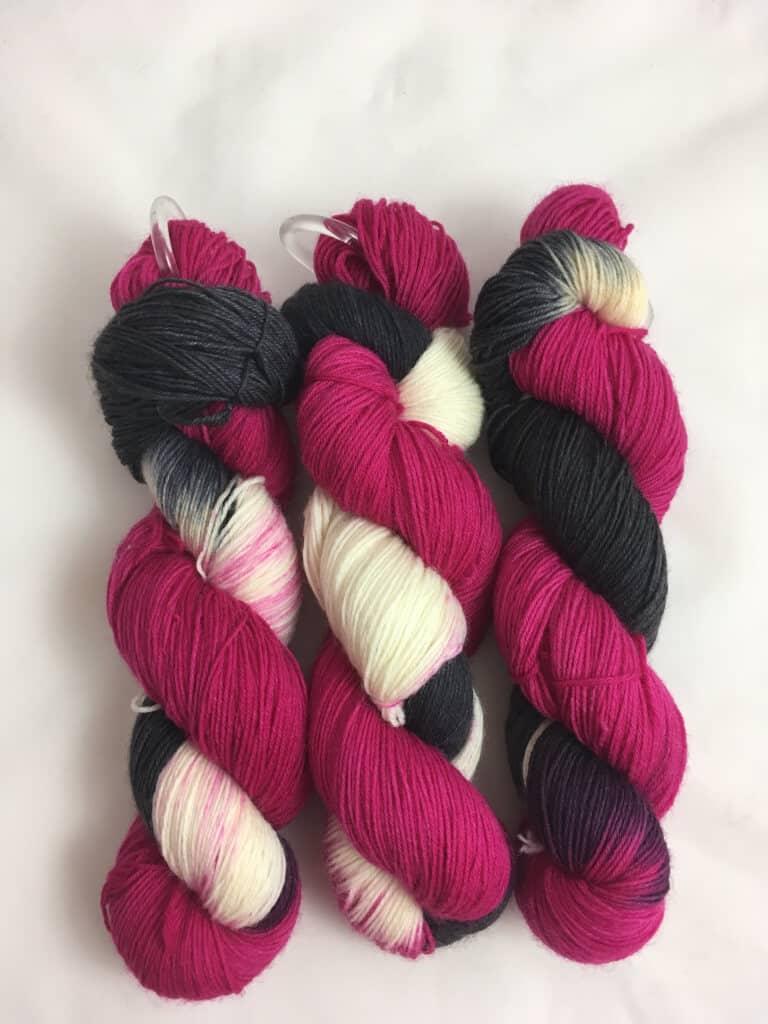 Wild Pink -  Handgefärbte Wolle