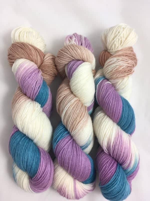 Estland - handgefärbte Lanartus Wolle
