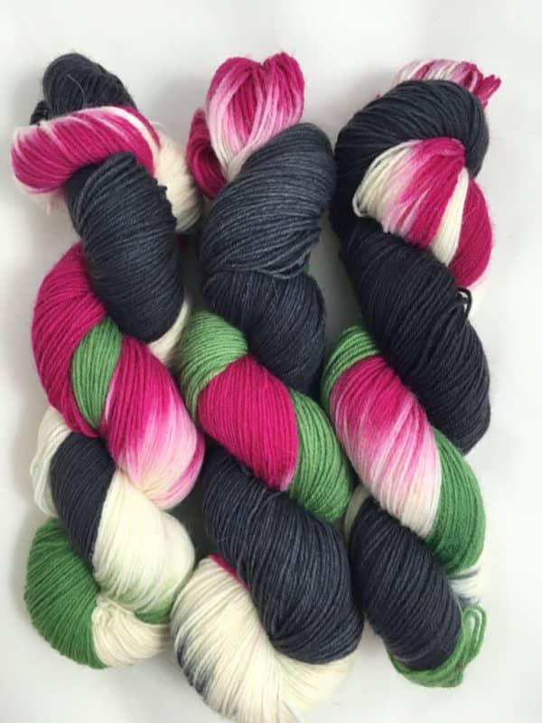 Grandioso Grau - handgefärbte Lanartus Wolle
