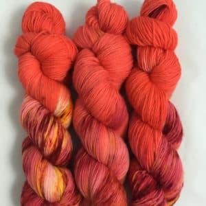 New Mexico - handgefärbte Lanartus Wolle