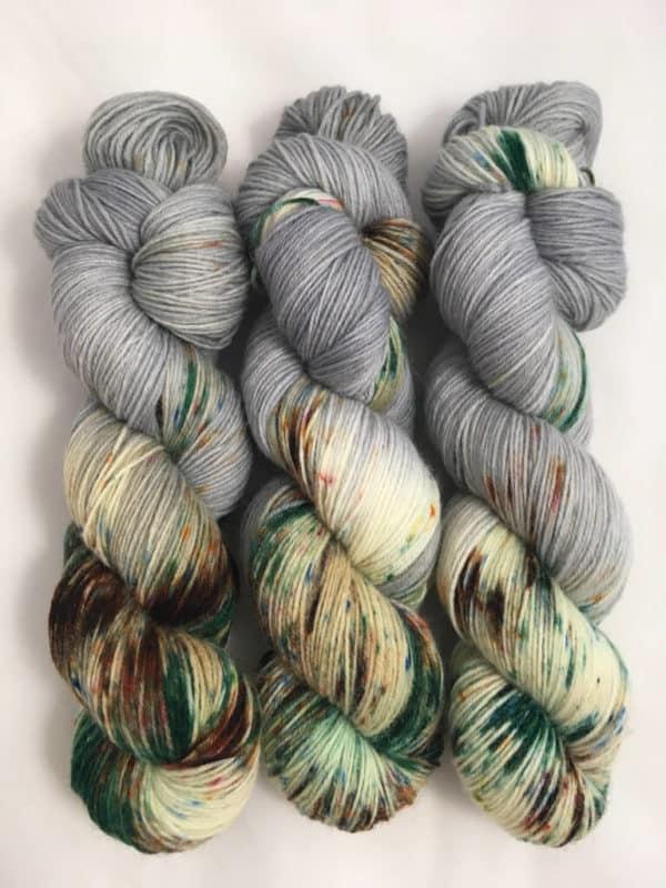 Ottawa - handgefärbte Lanartus Wolle