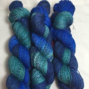 Atlantik Twister- Handgefärbte Twister Wolle