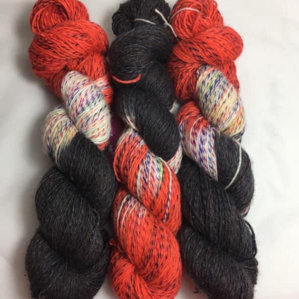 Betancuria - Handgefärbte Twister Wolle