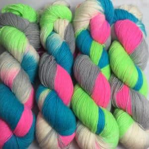 Chicago - Handgefärbte Wolle