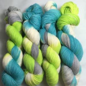 Mr. Cool - Handgefärbte Wolle