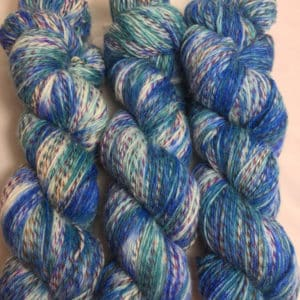 New Magic - Handgefärbte Twister Wolle
