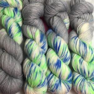 Seattle - Handgefärbte Wolle